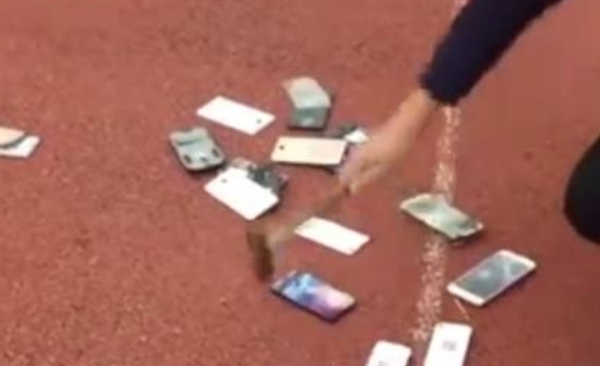 对于当面销毁学生手机您怎么看?